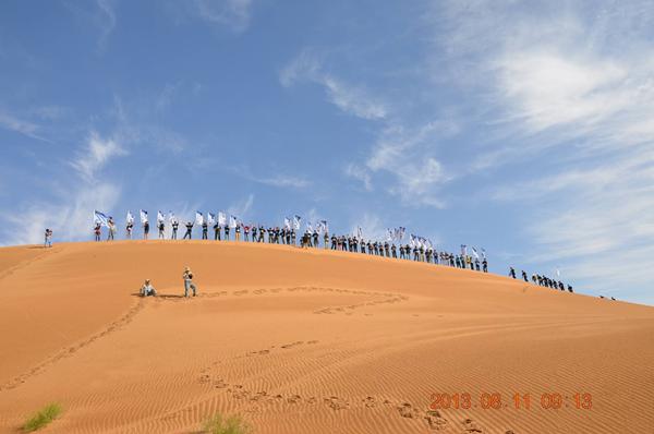 内蒙三天沙漠穿越